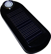 Kiwi - U-Powered Solar/USB Portable Charger - Black