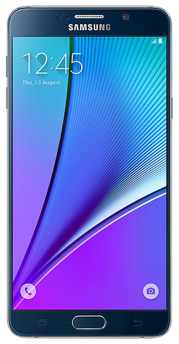 Samsung - Galaxy Note 5 4G LTE with 32GB Memory Cell Phone (Unlocked) - Black