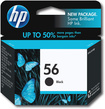 HP - 56 Inkjet Cartridge - Black
