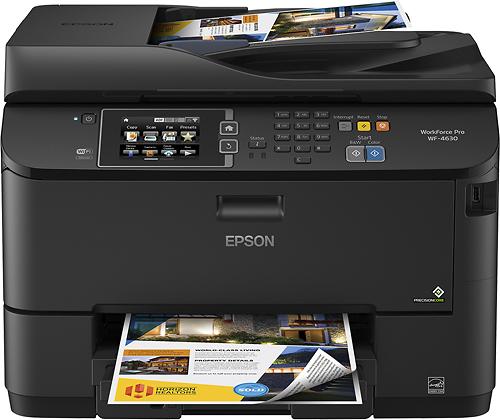 Epson - WorkForce Pro WF-4630 Wireless All-In-One Printer - Black