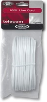 Jensen - 100&#039; Line Cord - White