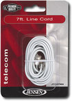 Jensen - 7&#039; Line Cord - White