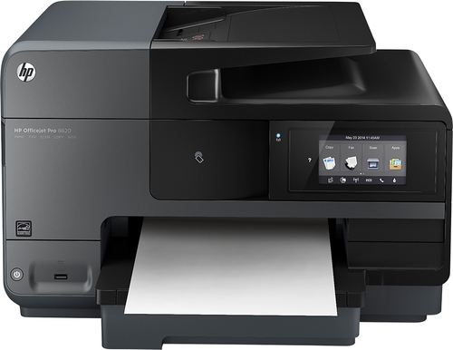 HP - Officejet Pro 8620 e-All-in-One Wireless All-In-One Printer - Black