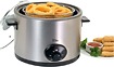 Maxi-Matic - Elite 5-Quart Multicooker Deep Fryer - Stainless-Steel
