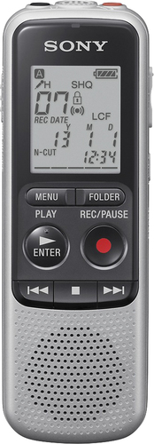 Sony - Digital Voice Recorder - Silver