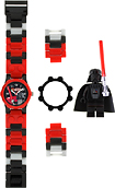 LEGO - Star Wars Darth Vader Watch - Red/Black