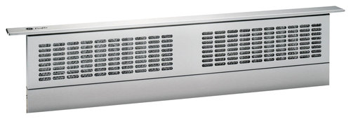 GE - Profile 36 Telescopic Downdraft System - Stainless Steel (Silver)