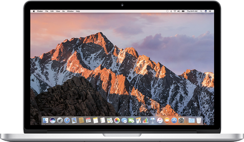 Apple - MacBook Pro with Retina display (Latest Model) - 13.3 Display - 8GB Memory - 512GB Flash Storage - Silver