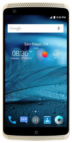 ZTE - Axon 4G with 32GB Memory Cell Phone (Unlocked) - Ion Gold
