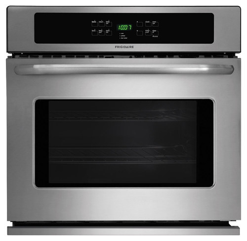 Frigidaire - 30 Built-In Single Electric Wall Oven - Stainless Steel (Silver)