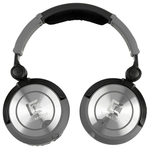 Ultrasone - PRO 750 Over-the-Ear Headphones - Dark Gray
