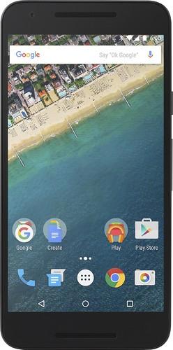 LG - Google Nexus 5X 4G with 16GB Memory Cell Phone (Unlocked) - Ice (White)