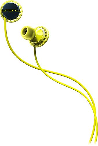 SOL Republic - Relays Earbud Headphones - Lemon Lime