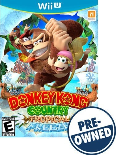 Donkey Kong Country: Tropical Freeze - PRE-Owned - Nintendo Wii U
