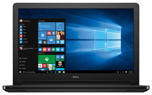 Dell - Inspiron 15.6 Touch-Screen Laptop - Intel Core i3 - 4GB Memory - 1TB Hard Drive - Black Gloss