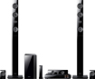 Samsung - 7.1 3D Home Theater System - 1330 W RMS - Blu-ray Disc Player