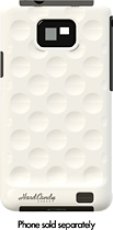 Hard Candy Cases - Soft-Touch Bubble Shell Case for Samsung Galaxy S II Mobile Phones - White
