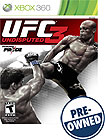 UFC Undisputed 3 - PRE-OWNED - Xbox 360