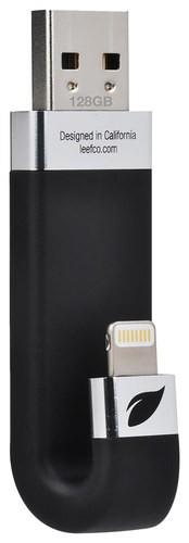 Leef - iBridge 128GB USB Type A Flash Drive - Black