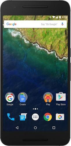 Huawei - Nexus 6P 4G with 32GB Memory Cell Phone (Unlocked) - Graphite (Grey)