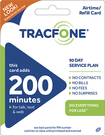 TRACFONE - 200-Minute Prepaid Wireless Airtime Card