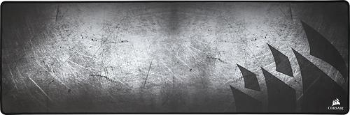 Corsair - MM300 Antifray Cloth Gaming Mouse Mat - Gray/Black