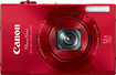 Canon - PowerShot ELPH 520 HS 101-Megapixel Digital Camera - Red