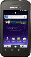 MetroPCS - ZTE Score M No-Contract Cell Phone - Black