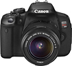 Canon - Canon EOS Rebel T4i 180-MP Digital SLR Camera Kit with 18-55mm Lens - Black
