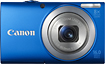 Deals List: Canon PowerShot A4000 IS 16.0-MP Digital Camera w/8x Optical Zoom Blue