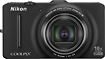 Nikon - Coolpix S9300 16.0-Megapixel Digital Camera - Black