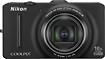 Nikon - Coolpix S9300 16.0-Megapixel Digital Camera - Black