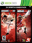 2K Sports Combo Pack: Major League Baseball 2K12 & NBA 2K12 (Xbox 360) $39.99