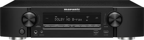 Marantz - 500W 5.2-Ch. 4K Ultra HD and 3D Pass-Through A/V Home Theater Receiver - Black