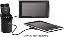 "Philips 9"" Dual LCD Screen Player $50 at Best Buy"