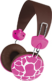 Macbeth Collection - Universal Headphone - Pink Giraffe