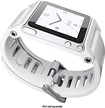 LunaTik - TikTok Multitouch Watchband for Select Apple iPod nano - White