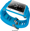 LunaTik - TikTok Multitouch Watchband for Select Apple iPod nano - Cyan