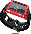 LunaTik - Multitouch Watchband for 6th- and 7th-Generation Apple iPod nano - Red