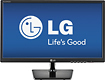 LG - 27&quot; Widescreen Flat-Panel LED HD Monitor