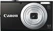 Canon - PowerShot A2400 IS 160-Megapixel Digital Camera - Black