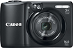 Canon - PowerShot A1300 160-Megapixel Digital Camera - Black