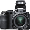 Fujifilm - FinePix S4300 140-Megapixel Digital Camera - Black