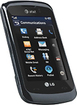 LG - GT550 Mobile Phone (Unlocked) - Black