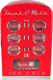 Kalorik - Drink-O-Matic 12-Can Mini Cooler - Red