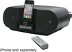 Sony - CD/CD-R/RW Boombox with AM/FM Radio and Apple iPhone/iPod Dock