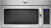 Whirlpool - 1.7 Cu. Ft. Over-the-Range Microwave - Stainless-Steel