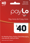 PayLo by Virgin Mobile - $40 Top-Up Card