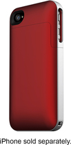 mophie - Juice Pack Air Charging Case for Apple iPhone 4 - Crimson