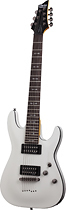 Schecter - Omen-7 2012 7-String Full-Size Electric Guitar - Vintage White
